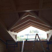 Realizzazione tetto in legno